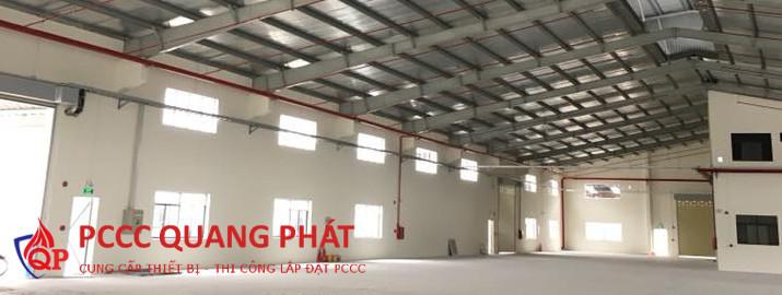 Giải pháp an toàn PCCC cho nhà xưởng
