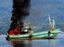Nổ tàu cá, 1 người mất tích
