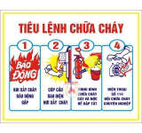 Tiêu lệnh nội quy pccc