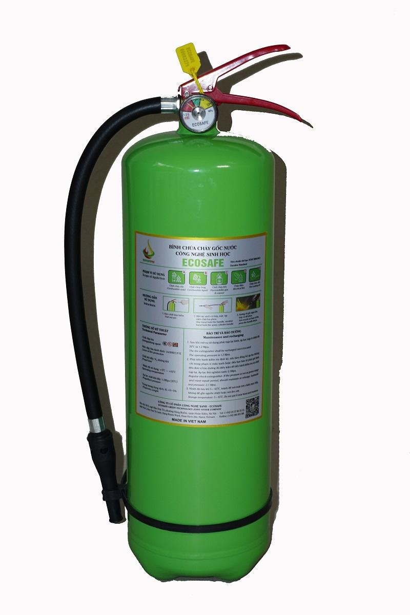 Bình chữa cháy gốc nước Ecosafe 3L