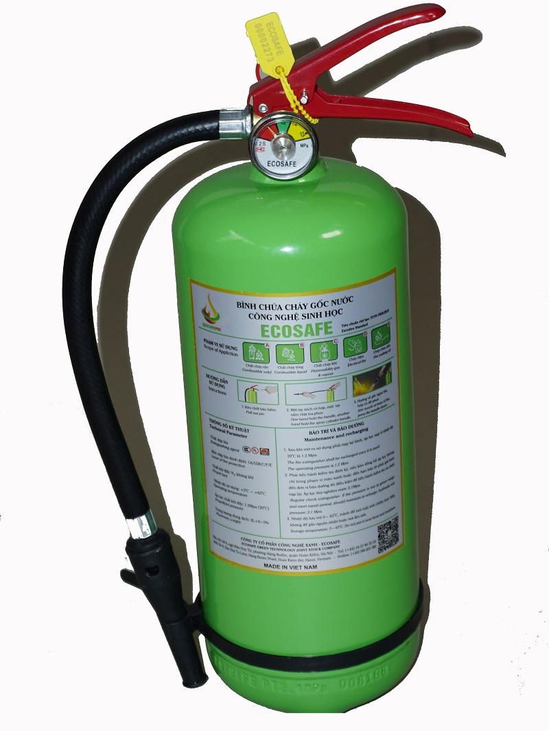 Bình chữa cháy gốc nước Ecosafe 4L