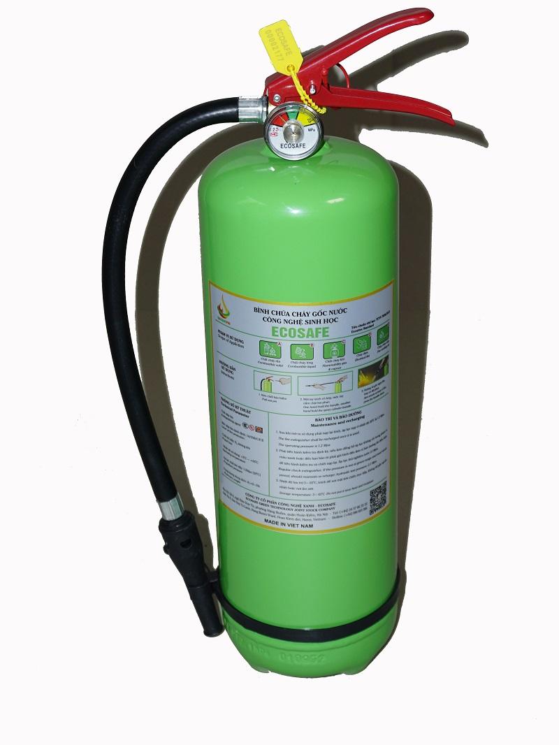 Bình chữa cháy gốc nước Ecosafe 6L